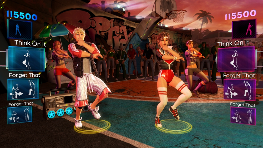 Kp, forrsa: Dance Central 2
