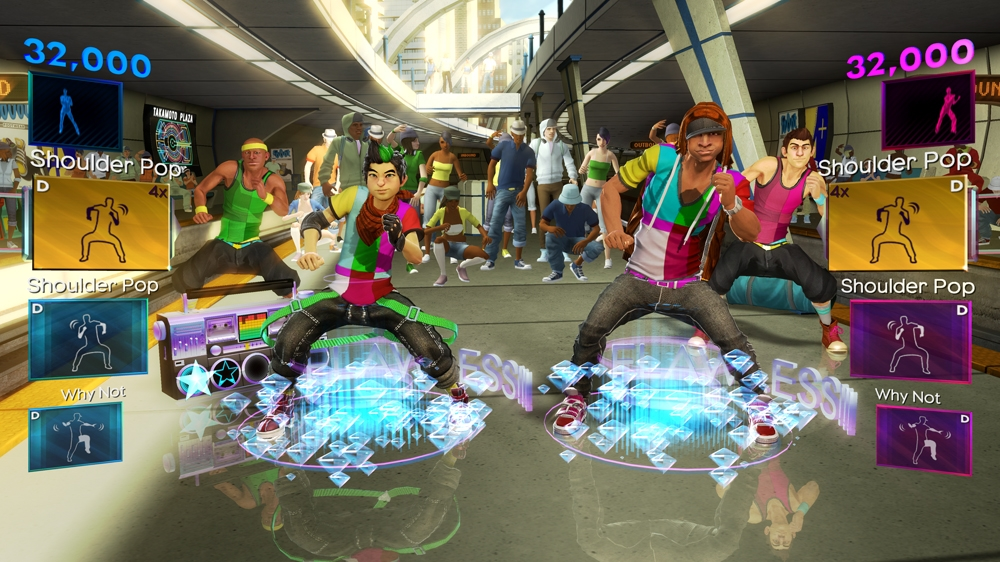 Image from Dance Central 2
