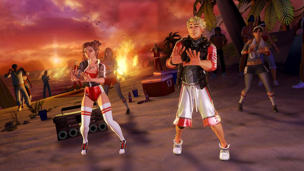 Image from Dance Central 2 Demo