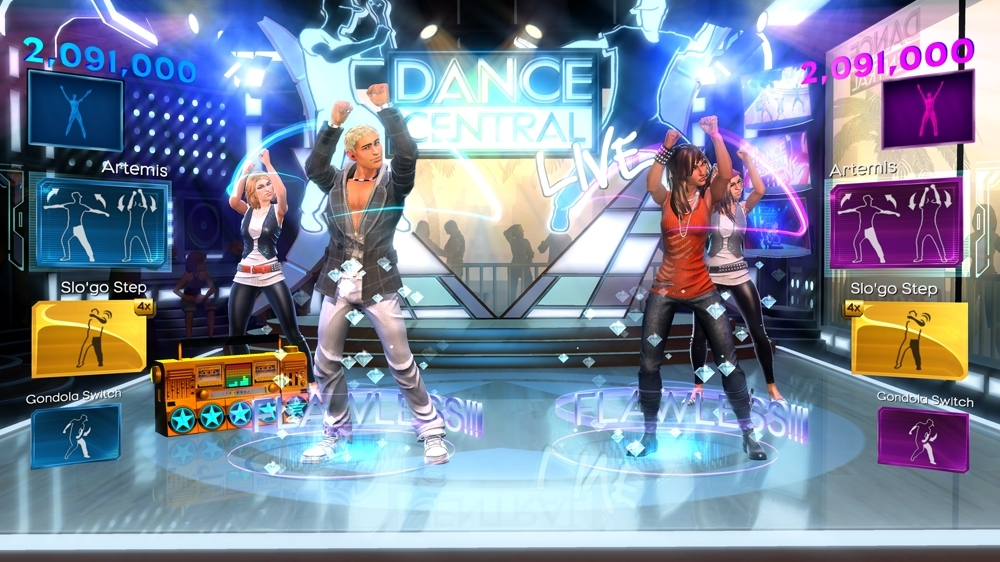Bild från Dance Central™ 3 Demo