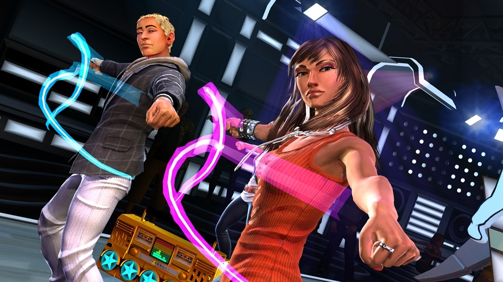 Image from Dance Central 3 Demo