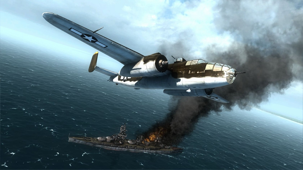 Image from Air Conflicts: Pacific Carriers