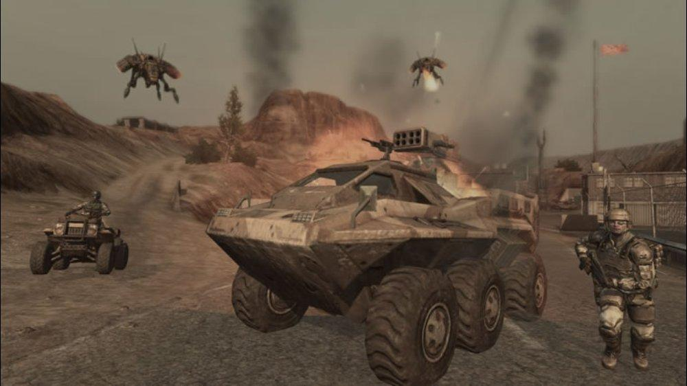 Image from ET: QUAKE Wars