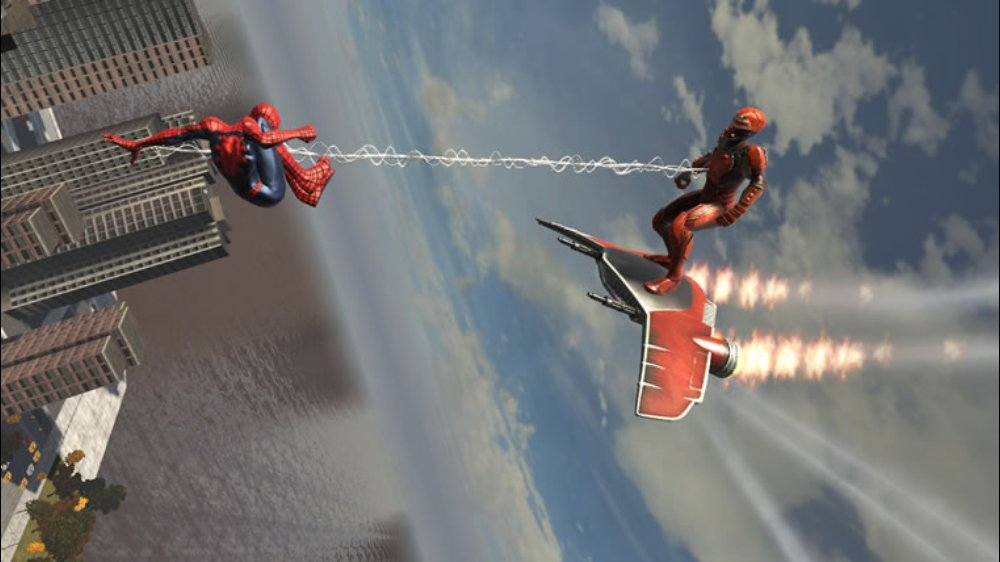 Image from Spidey: Web of Shadows