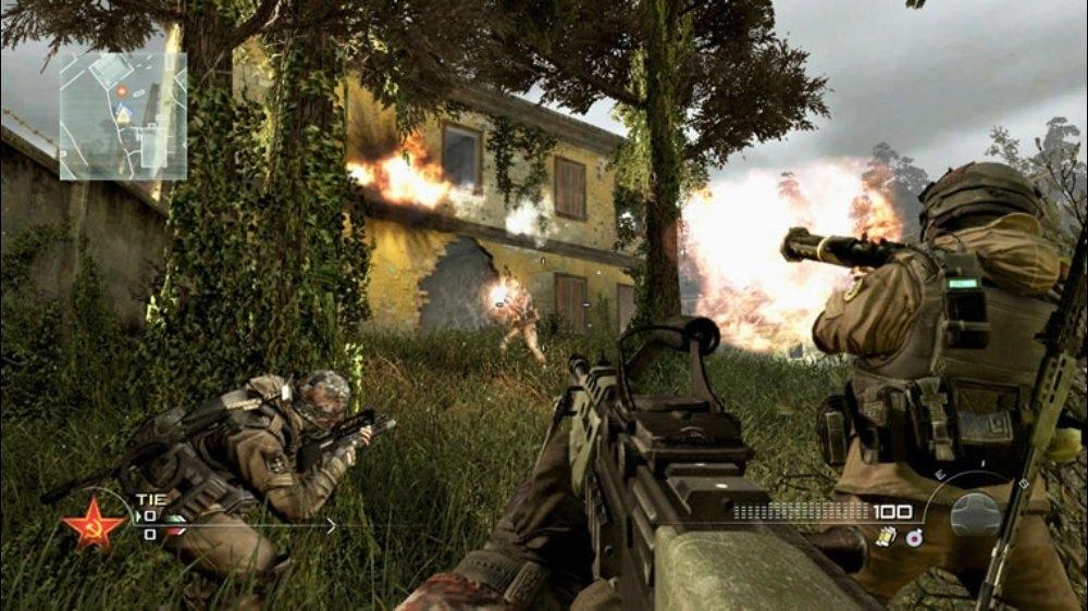 Snímek ze hry Modern Warfare® 2