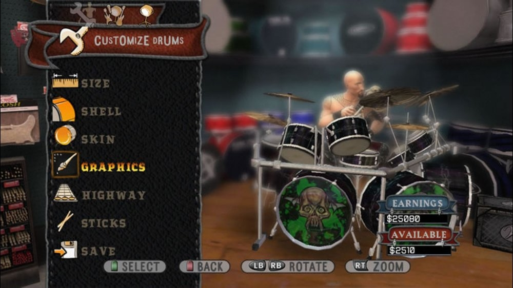 Image from Guitar Hero World Tour