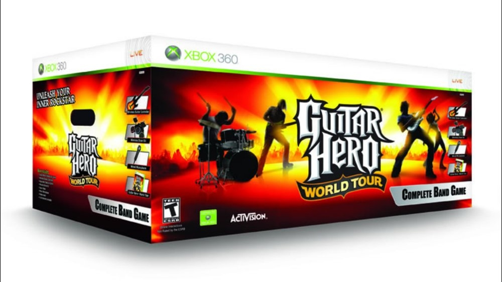 Bild från Guitar Hero World Tour