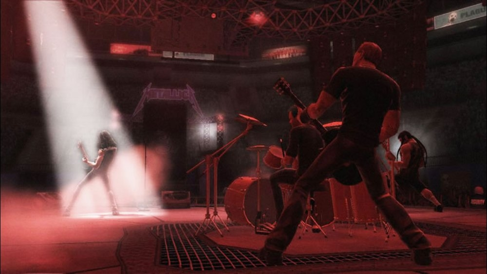 Image from Guitar Hero Metallica