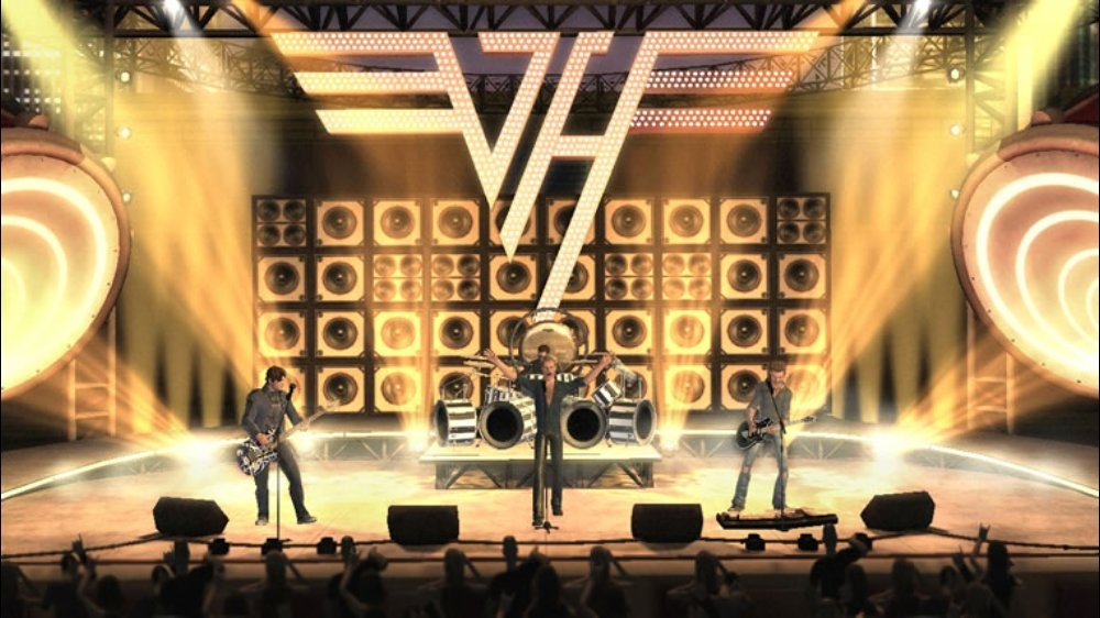 Image from Guitar Hero Van Halen