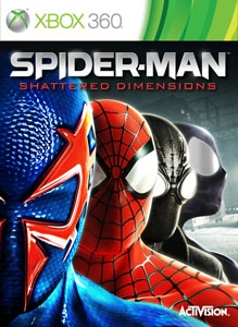 Spider-man: Shattered Dimensions boxshot