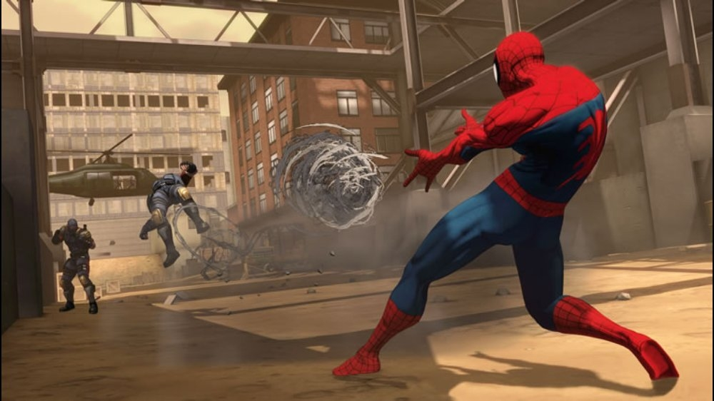 Image from Spider-Man:Dimensions