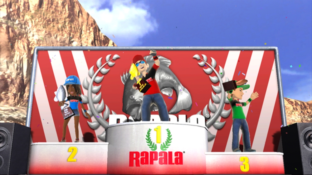 Image from Rapala® for Kinect™