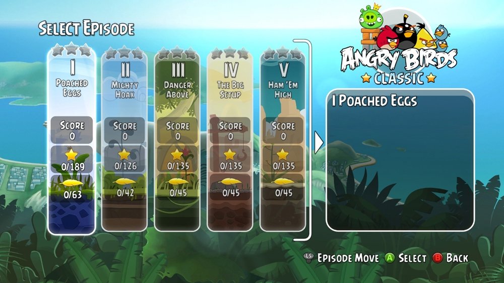 Kuva pelist Angry Birds Trilogy
