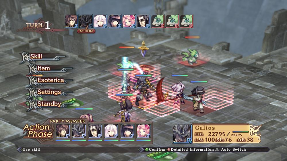 Image from Record of Agarest War Zero