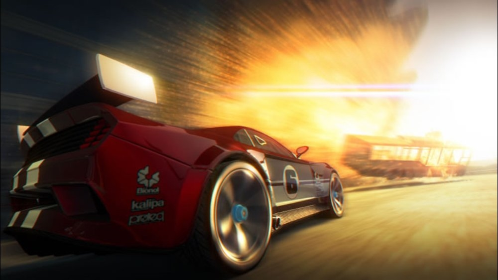 Snímek ze hry Split/Second