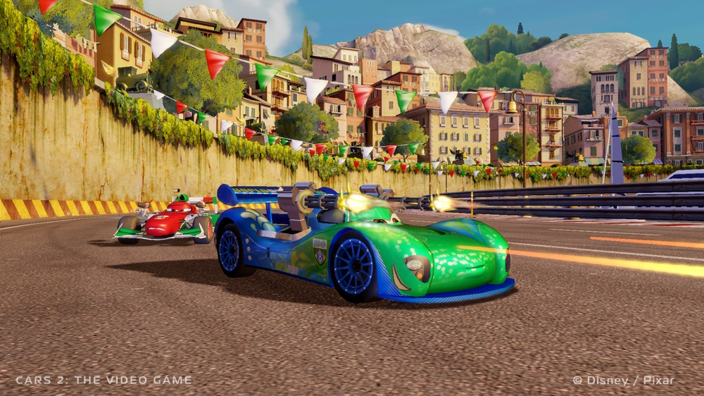Kép, forrása: Cars 2: The Video Game