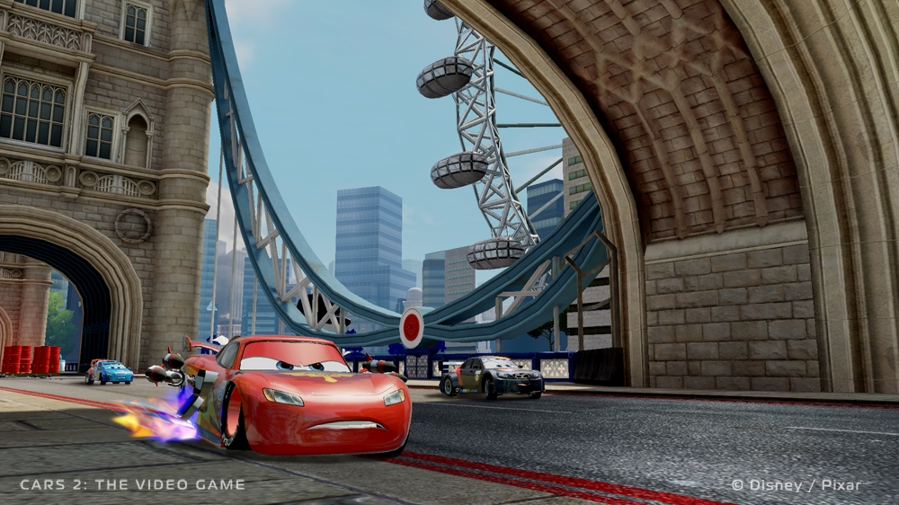Image from Cars 2: The Video Game