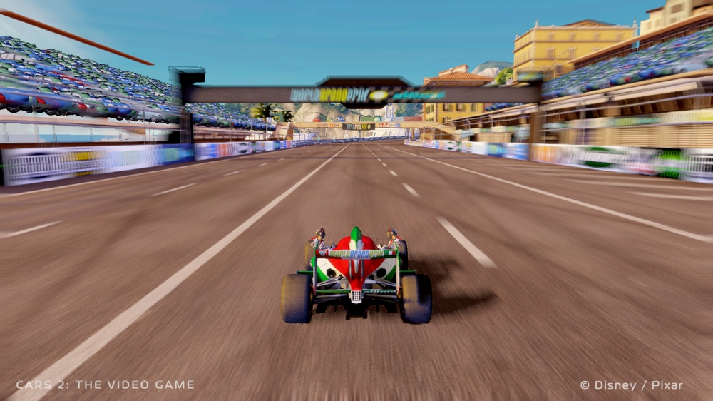 Snímek ze hry Cars 2: The Video Game