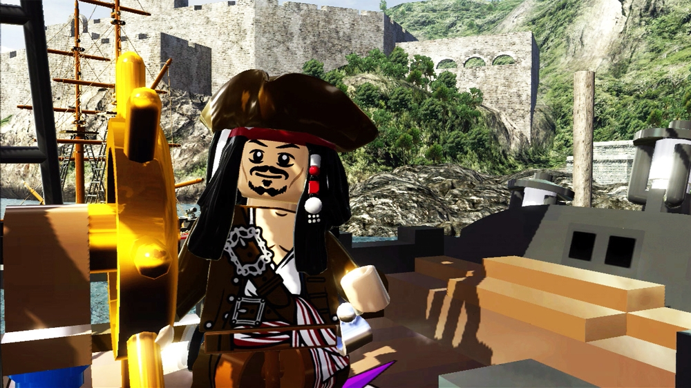Bilde fra LEGO Pirates of the Caribbean The Video Game