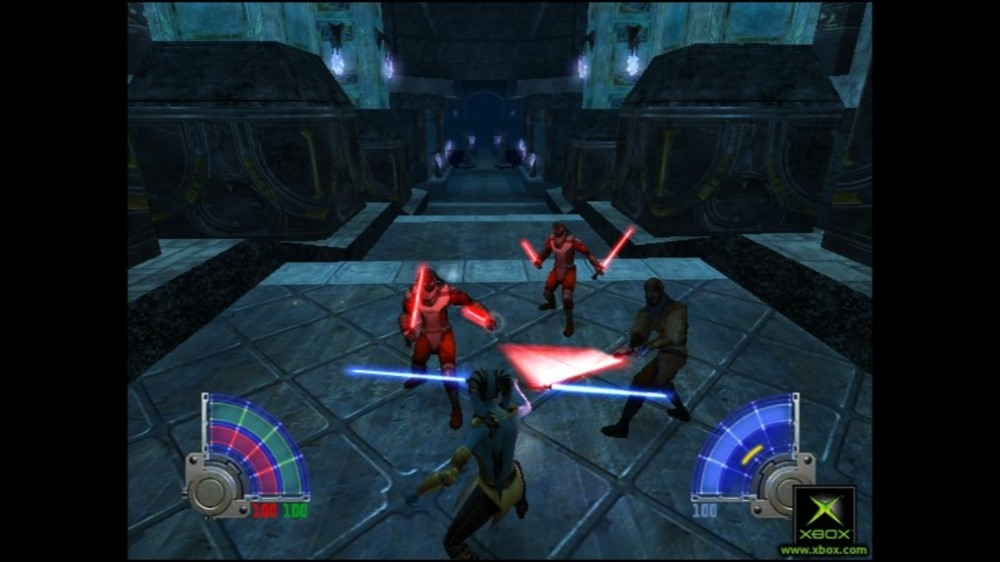 Obrázok z hry Star Wars Jedi Knight: Jedi Academy