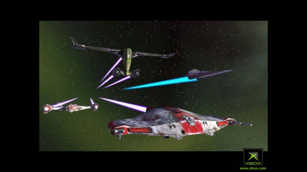 Image from Star Wars Jedi Starfighter