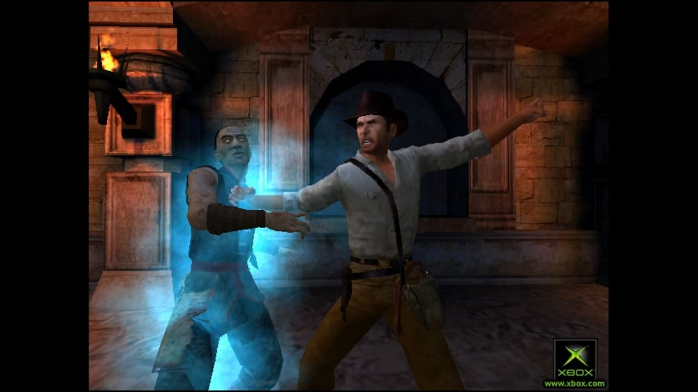 Image from Indiana Jones & Emperor's Tomb