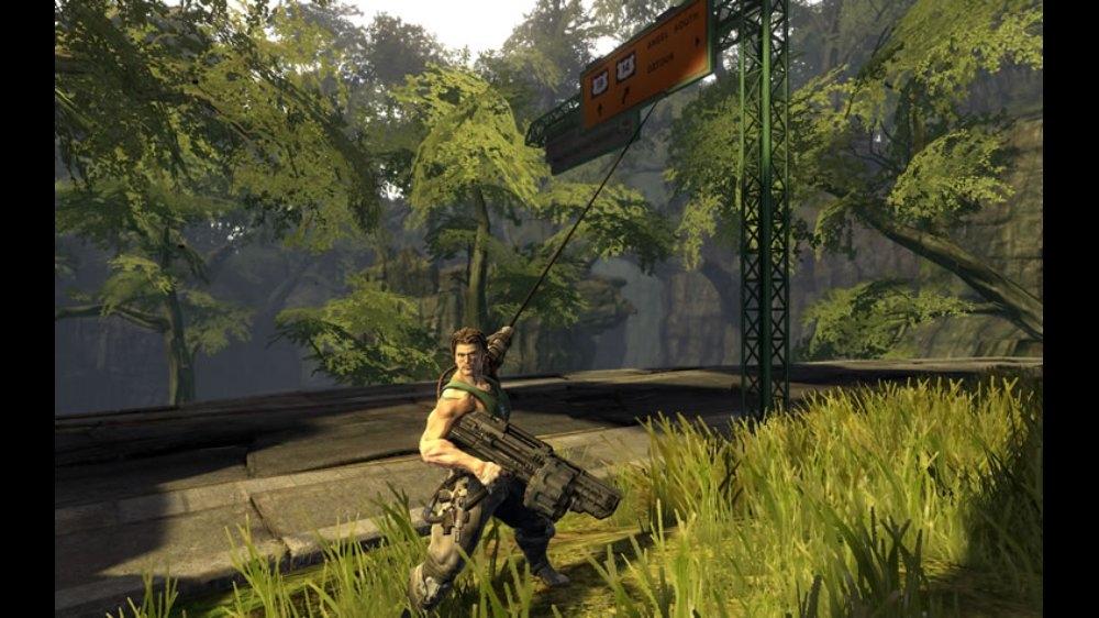 Изображение из Bionic Commando