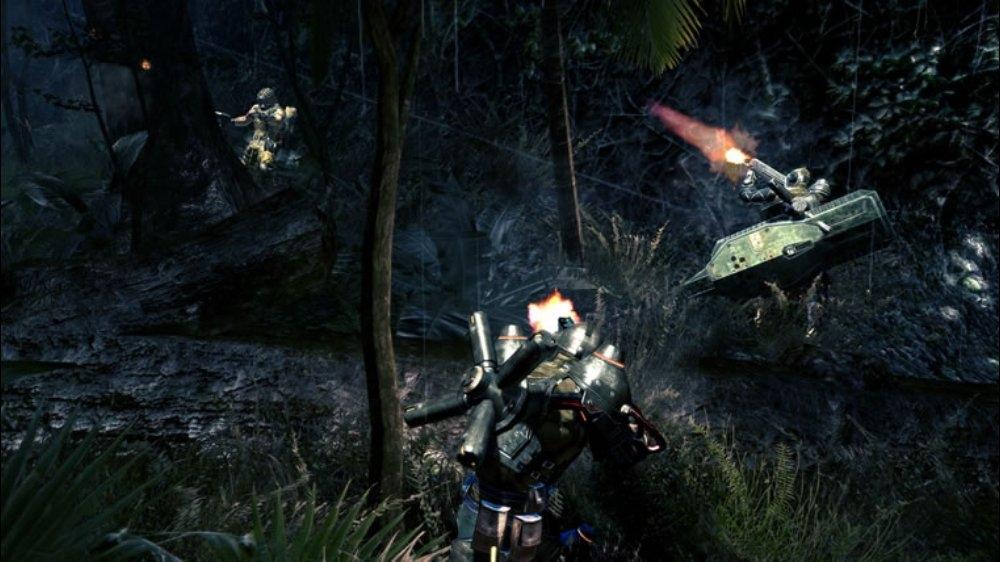 Snímek ze hry LOST PLANET 2