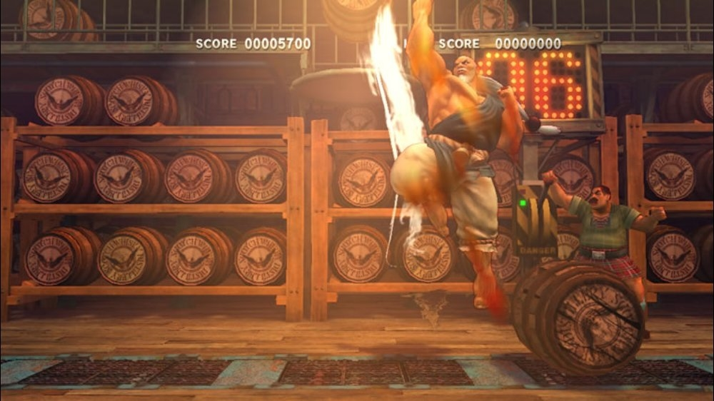 SUPER STREETFIGHTER IV ARCADE EDITION の画像
