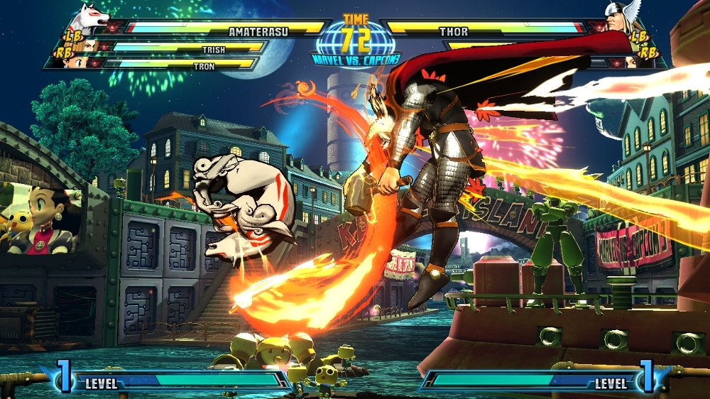 Image from MARVEL VS. CAPCOM 3