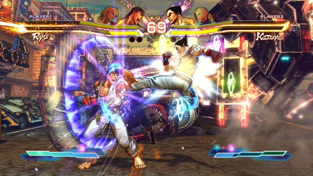 STREET FIGHTER X TEKKEN 이미지