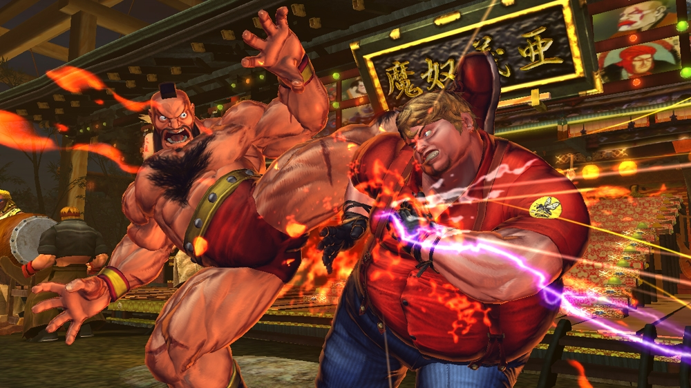 STREET FIGHTER X TEKKEN のイメージ