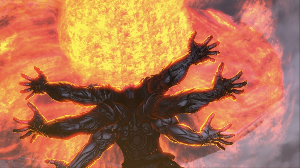 Image from ASURA'S WRATH