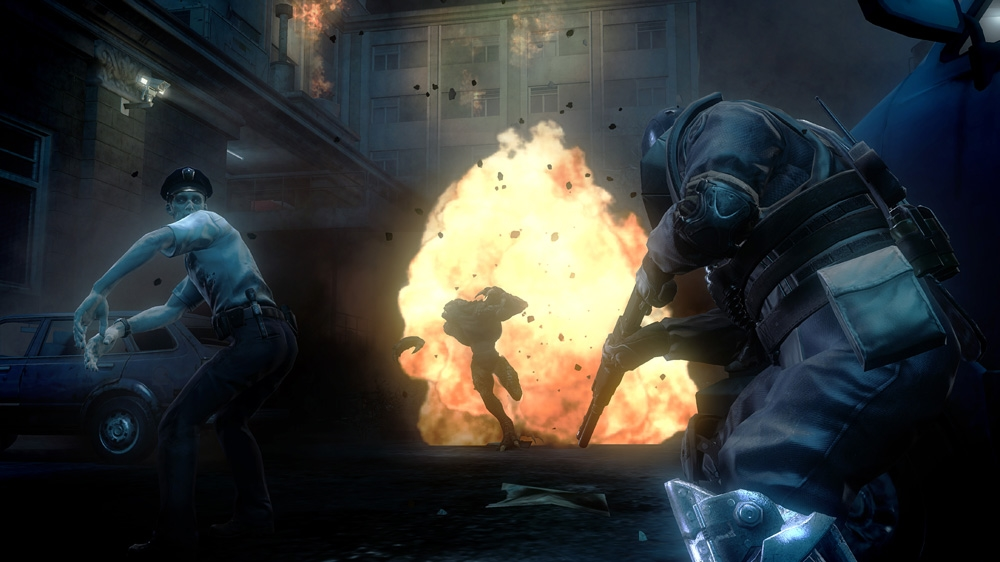Image from Resident Evil Operation Raccoon City
