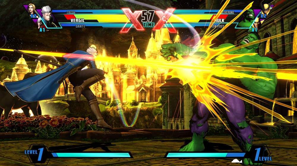 Bilde fra U. MARVEL VS. CAPCOM 3