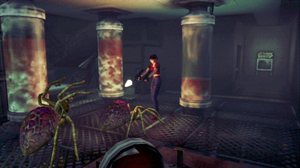 Image from RESIDENT EVIL CODE: Veronica X