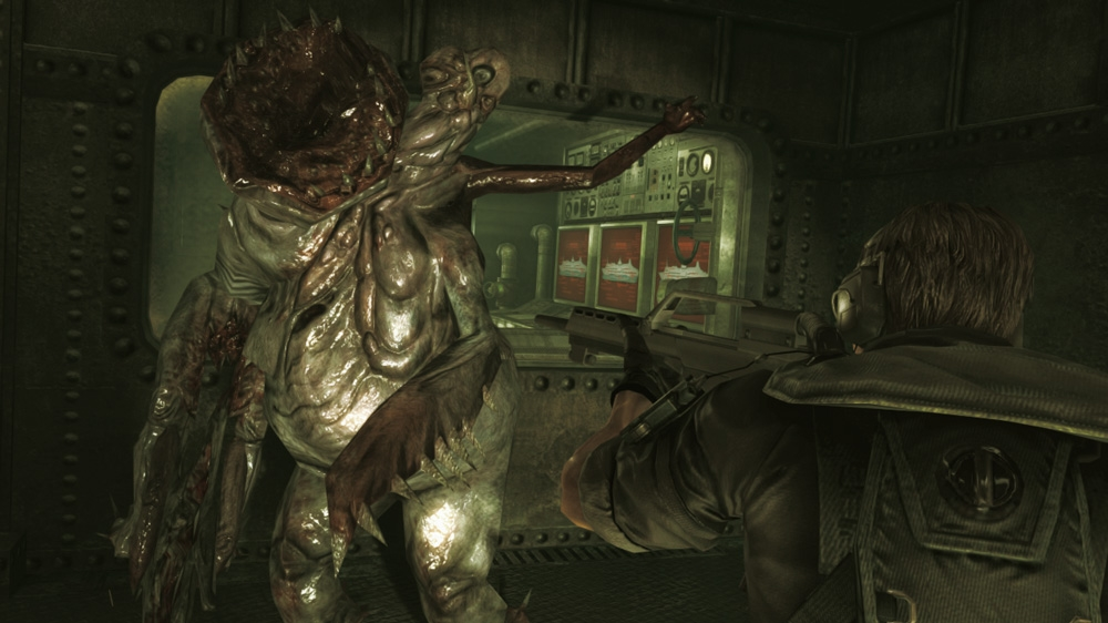 Image from RESIDENT EVIL REV.