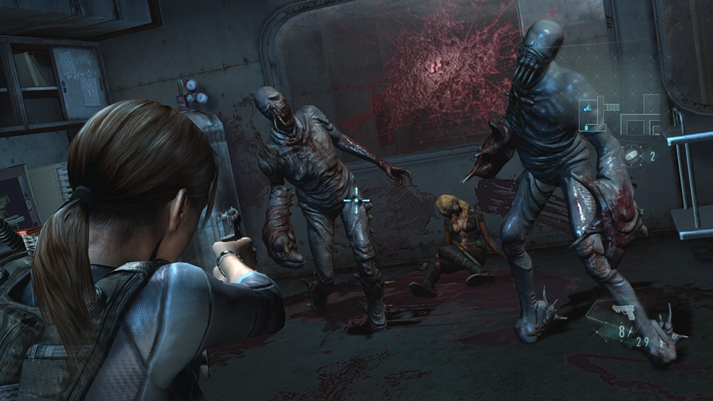Image from RESIDENT EVIL REVELATIONS Demo