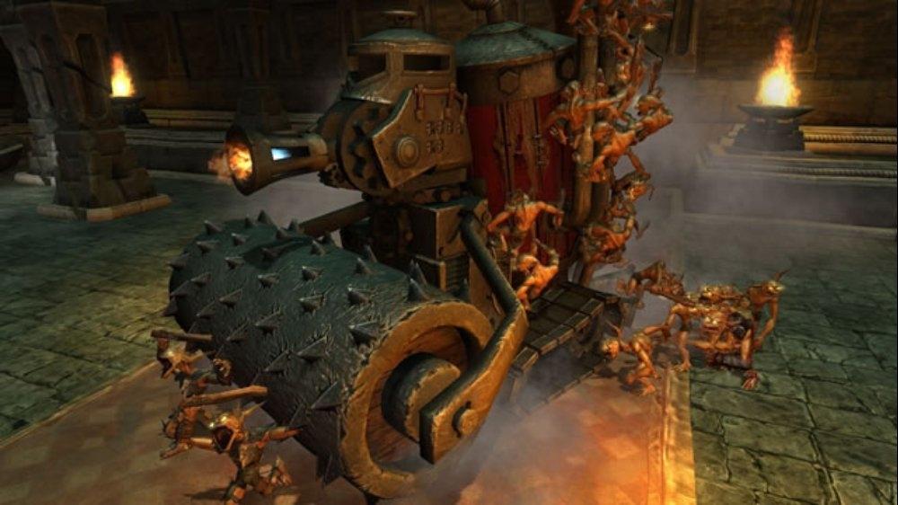 Snímek ze hry Overlord