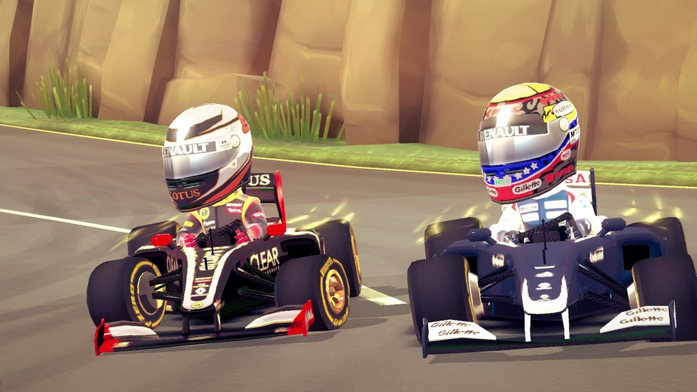 Image from F1 RACE STARS