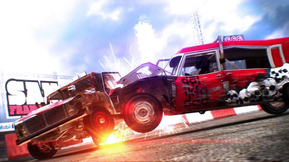 Image from DiRT Showdown Demo