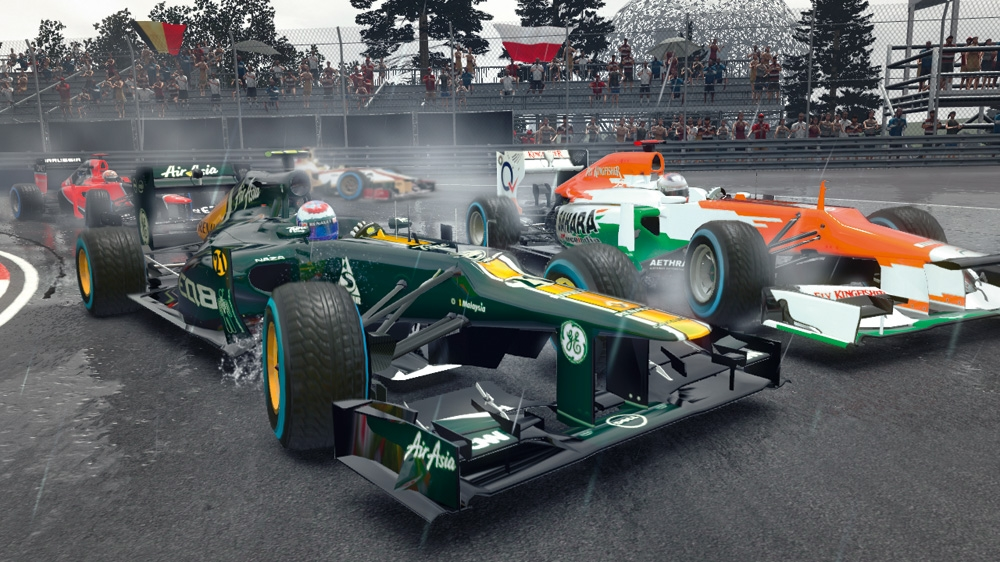 Image from F1 2012™ Demo