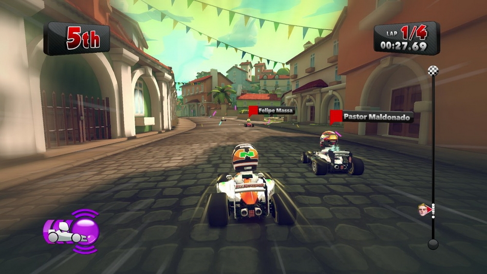 Image from F1 RACE STARS  Demo