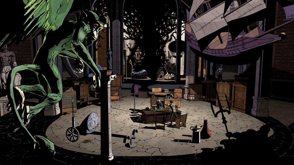 Image from The Wolf Among Us