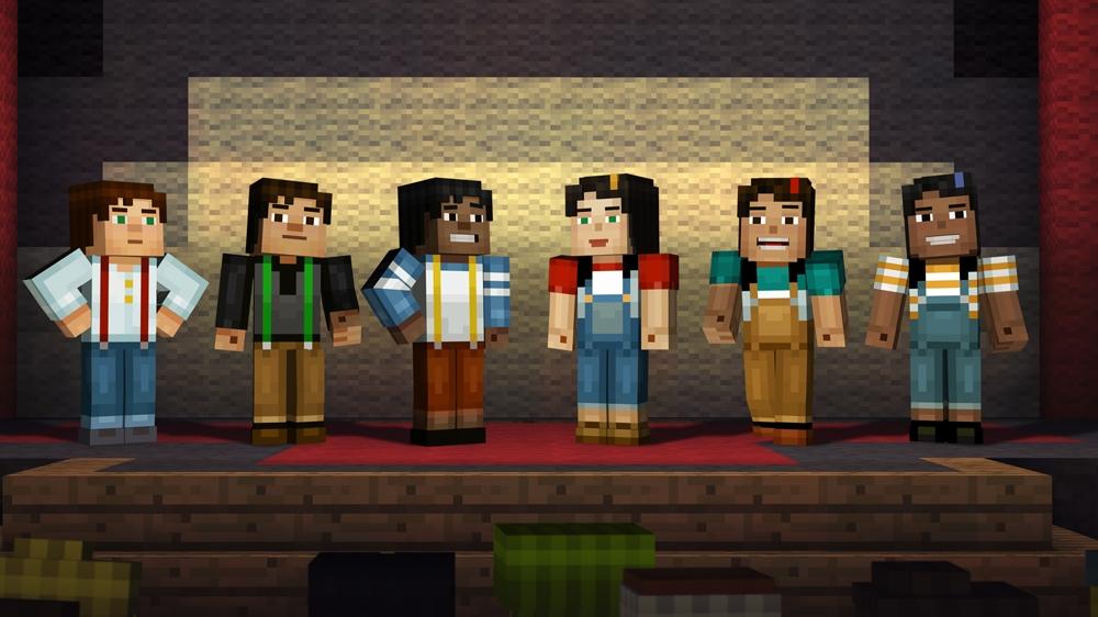 Kuva pelistä Minecraft: Story Mode - Complete