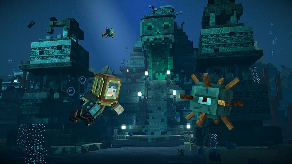 Image from Minecraft: Story Mode - Season Two