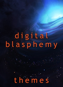 Digital Blasphemy - Winter Night Blue
