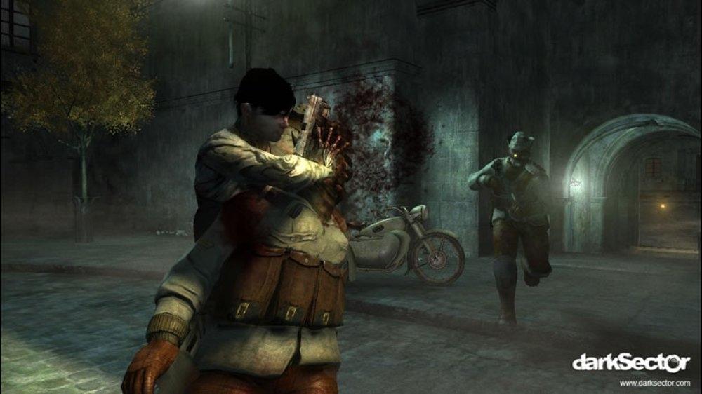 Snímek ze hry Dark Sector