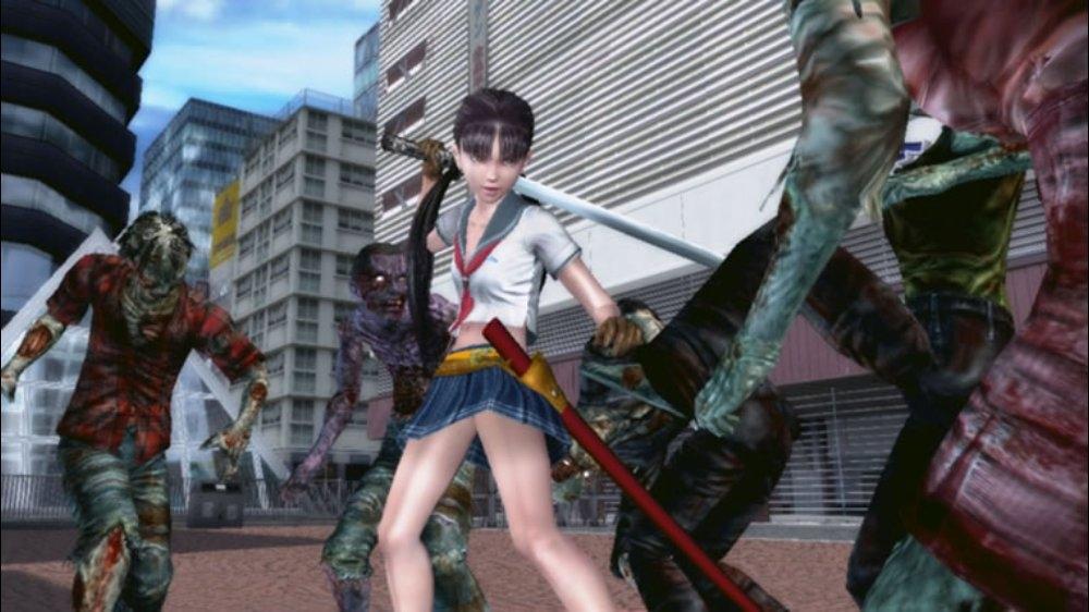 Snímek ze hry Onechanbara