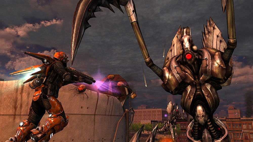Immagine da Earth Defense Force: IA